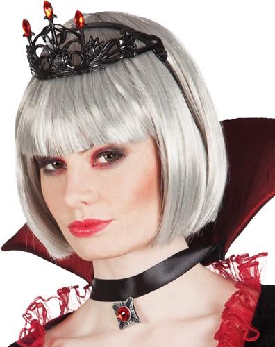Zwarte Diadeem Ruby