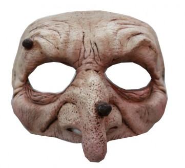 Heks / Wizard Halfmasker (latex)