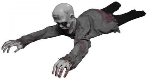 Zombie Crawling met bewegingssensor (geluid+licht)