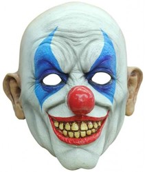Latex Masker Happy Clown Luxe