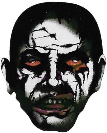 Morph Masker Zombie (Stretch Stof)
