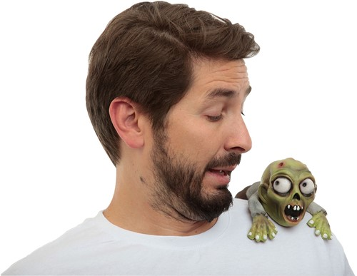 Clip-on Buddy Zombie (latex)