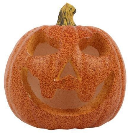 Deco Halloween Lichtgevende Pompoen (16cm)