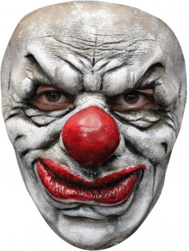 Latex Gezichtsmasker Horror Clown