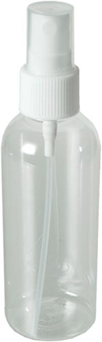 Sprayflesje van Plastic (0,1 liter)