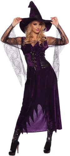 Heksenjurk Paarse met Hoed voor dames