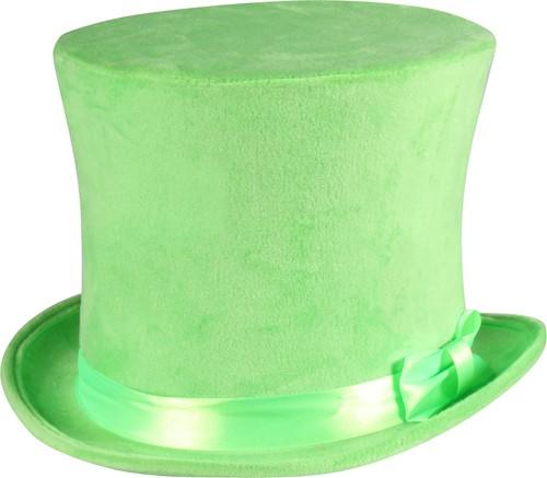 Flair Hoge Hoed Neon Groen