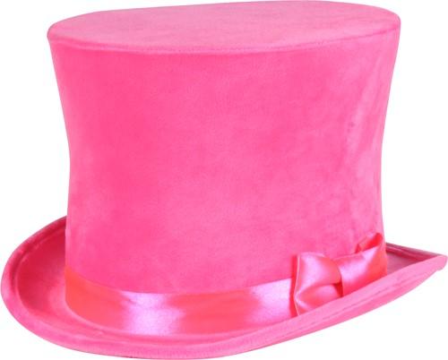 Flair Hoge Hoed Neon Pink