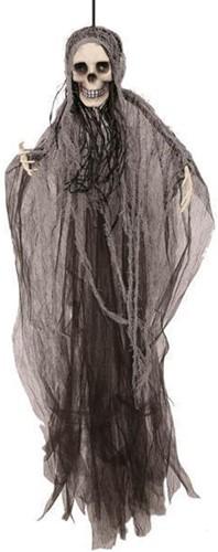 Hangdecoratie Scary Skull van 80 cm