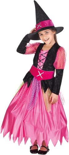 Meisjesjurk Heks Pretty Witch