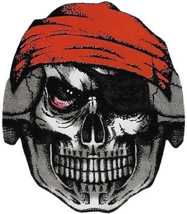 Morph Masker Piraat Skull (Stretch Stof)