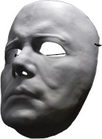 Halloween II - Masker Michael Myers Vacuform-3