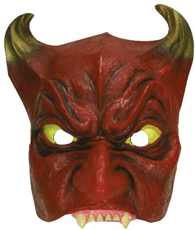Duivel Halfmasker