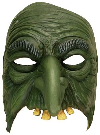 Groene Heks Halfmasker
