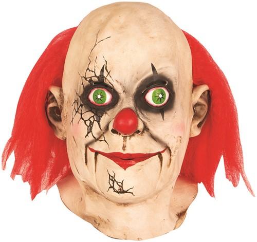 Clownsmasker (latex) Gebroken Pop