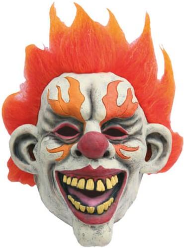 Masker Enge Clown Vlammen