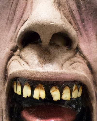 World War Z Masker - Scream Zombie (latex)-3
