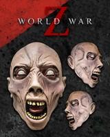 Scream Zombie World War Z Masker Latex (official World War Z)