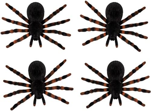 Spinnen (set van 4, 7x11cm)