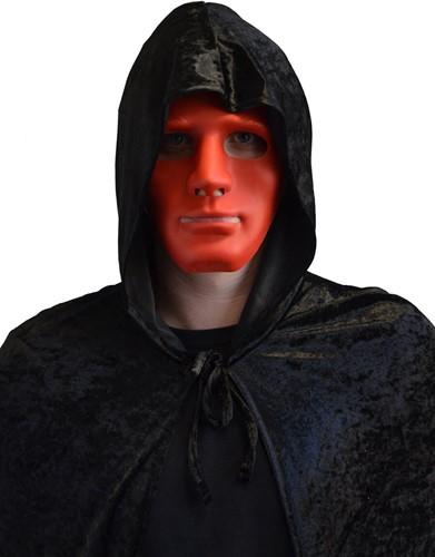 Anonymous Halloween Masker Rood (plastic)