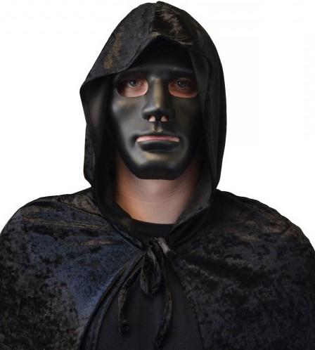 Masker Halloween Anonymous Zwart (plastic)