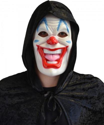 Masker Halloween Clown (plastic)