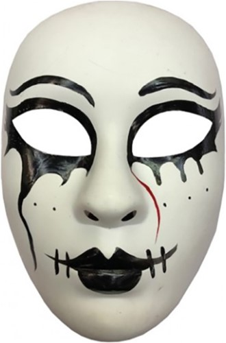 Masker Halloween The Purge God (plastic)