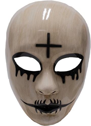 Masker Halloween The Purge God Kruis (plastic)