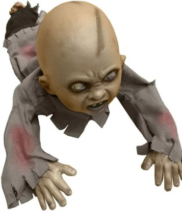 Crawling Baby Zombie  (geluid+licht)