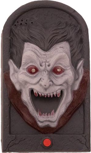 Halloween Deurbel Vampier (geluid + licht)