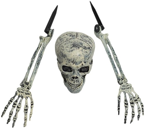 Decoratie Halloween Buried Alive Skeleton