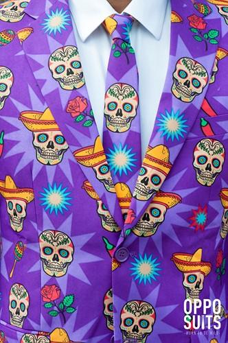 Herenkostuum OppoSuits El Muerto  -3