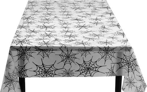 Tafelkleed Spinnenweb Plastic (135x275cm)