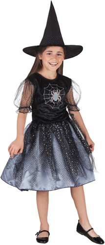 Spider Witch Heksenjurkje voor meisjes