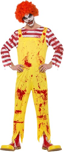 Killer Clown Ronald Halloween Kostuum