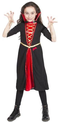 Gothic Vampier Kostuum Meisje