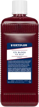 Kryolan nep bloed licht 0,5 L