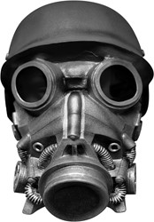 Chemical Warfare Gasmasker Luxe (latex)