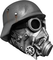 Chemical Warfare Gasmasker Luxe (latex)-2