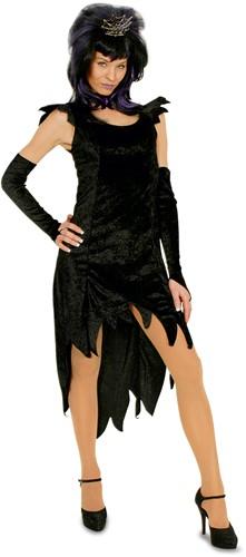 Damesjurk Heks Zwart
