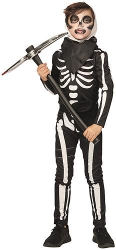 Kostuum Skeletten Soldier voor Kinderen