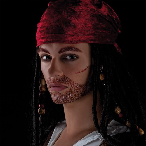 Piraat Make-up Setje