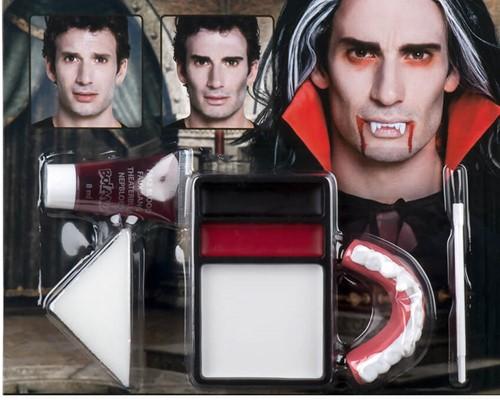 Luxe Schminkset Vampier (incl. Vampierstanden)