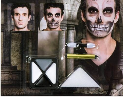 Skelet Make-Up Setje
