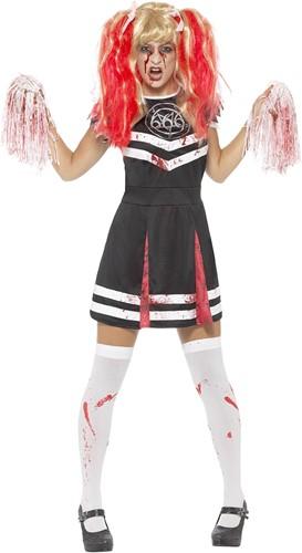 Dameskostuum Cheerleader Satanic
