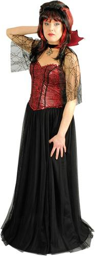 Dameskostuum Vampier / Heks Amira