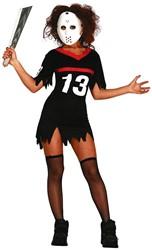 Halloween Damesjurkje Jason Friday the 13th