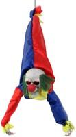 Hangdecoratie Bewegende Scary Clown (80cm)