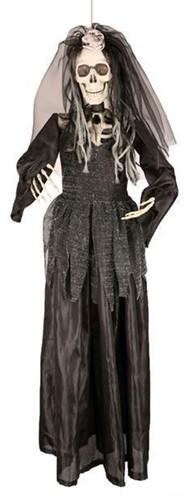 Hangdeco Bruid Skelet Halloween (90cm)