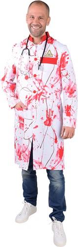 Halloween Doktersjas met Bloed voor Heren -2